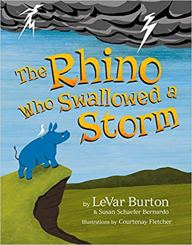 The Rhino Who Swallowed a Storm by LaVar Burton