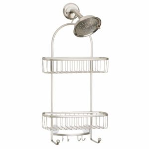 Vintage Metal Wire Bathroom Tub & Shower Hanging Organizer