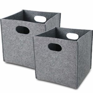 Collapsible Felt Storage Bin