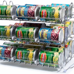 Stackable Can Rack Organizer, Storage for 36 Cans