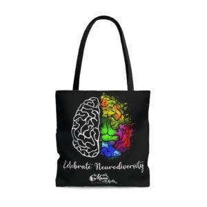 Celebrate Neurodiversity Tote Bag | The Mama On The Rocks
